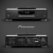 Pioneer blu-ray disc player BDP-LX58-K