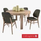 Calligaris стол ATELIER и кресло COLETTE