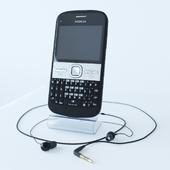 Mobile phone nokia e5 (Corona Render)