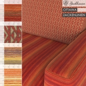 Backhausen Fabric OTTAWA, ZACKENLINIEN