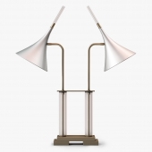 Harris Kratz Lucite Desk Lamp