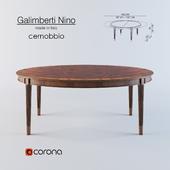 extendable dining table Galimberti Nino Cernobbio