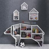 Bear Bookshelf