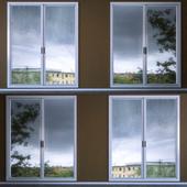 Misted window