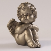 Sculpture of an angel.