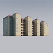Многоквартирный кирпичный жилой дом