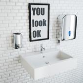 public bathroom set