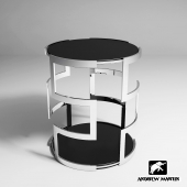 Coffee table Visconti Side Table, Andrew Martin