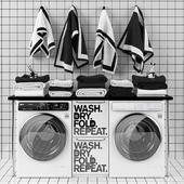 Set room laundry room