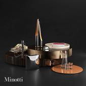Decorative set Minotti 1