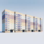 9-этажный панельный дом