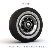 The wheel of the Pontiac 60