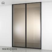 Minimaldoors sliding glass walls