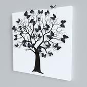 Декоративное панно - Бабочки