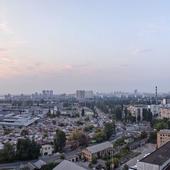 Panorama evening Kiev