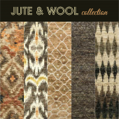 Carpets Bachfinerugs, JUTE & WOOL collection