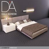 Кровать подростковая Dallagnese Square and Sommier