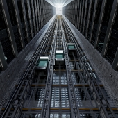 grain elevator shaft