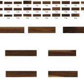 Набор текстур американского ореха для плагина multitexture map