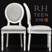 RH / VINTAGE FRENCH SEQUIN DESK CHAIR