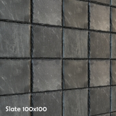 Slate with crushed edge