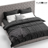 FLEXTEAM MARCEL + black bedclothes