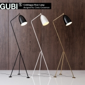 Grossman Gräshoppa floor lamp Gubi Design