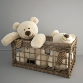 bears in a basket