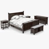 Crate&Barrel Brighton Bedroom Furniture