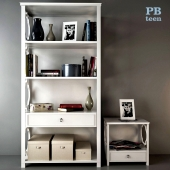 Rack PB Teen Elsie Bookcase and Cupboard PB Teen Elsie Bedside Table