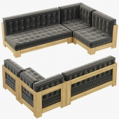 RH Teen Callum L Sectional Set