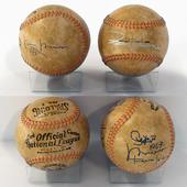 Baseball collector's ball