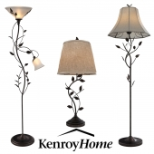 Kenroy Home Collection of lamps