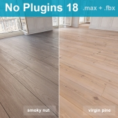 Parquet 18 (2 species, without the use of plug-ins)