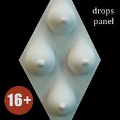 Декоративная панель Drops