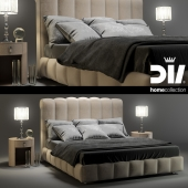 DV HOME collection bed BYRON letto