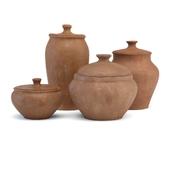 Tableware clay