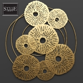 Round Wall Decor by Style Craft