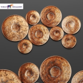 Disc Wall Decor by World Menagerie