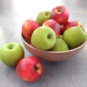 mixed apples
