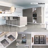 Кухня Poliform Varenna Kyton 2 (vray, corona)