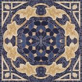 mosaic blue