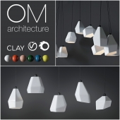 Clay - OM Architecture Lamp