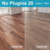 Parquet 20 (2 species, without the use of plug-ins)