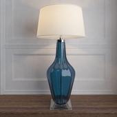 Jewel Glass Lamp, Sapphire