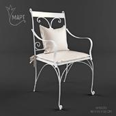 Кованное кресло фабрики MART мебель