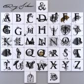 Декоративная плитка Rory Dobner Alphabet tiles set
