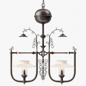 Gilette Light Company 1900 Dr. Suess Style Gas Lamp