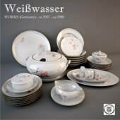 Weisswasser сервиз столовый.