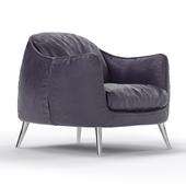 Platea armchair by Natuzzi